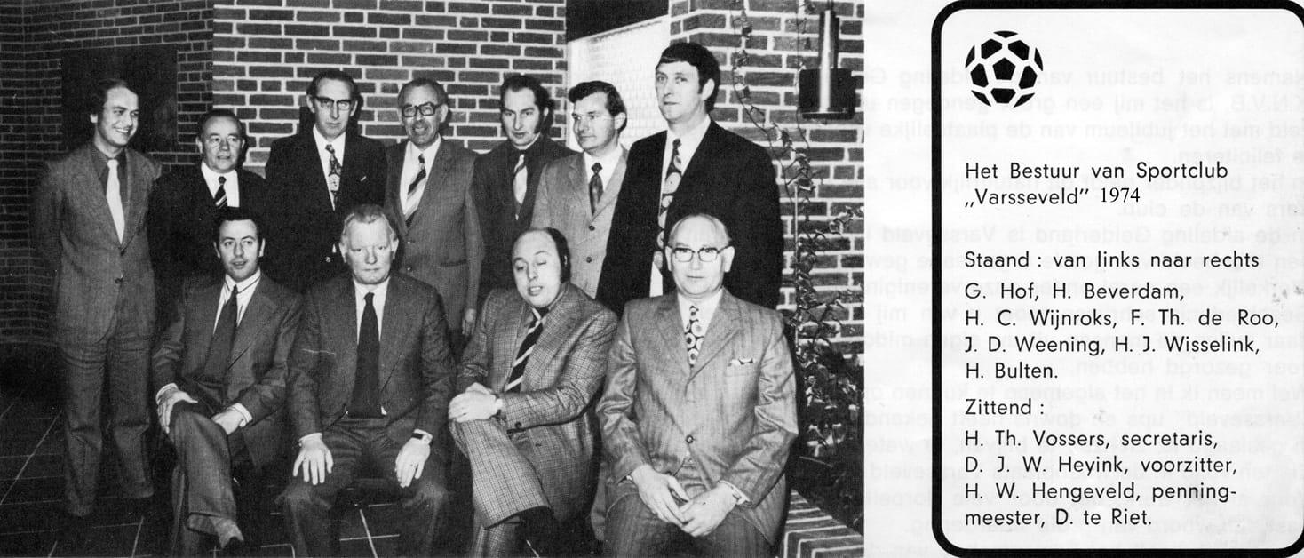 Het Bestuur 1974